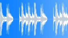 Bwa groove 90bpm 19 drum loop Sound Effect