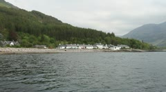 Inverie and Loch Nevis Scotland Stock Footage