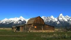 Grand Tetons USA Stock Footage