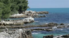 Rocky Coastline - stock footage