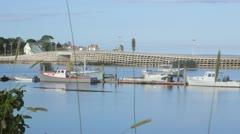 Cribstone Bridge 2 Stock Footage