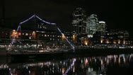 Stock Video Footage of Puerto Madero Buenos Aires