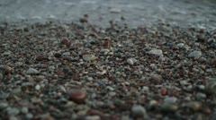Small stones Stock Footage