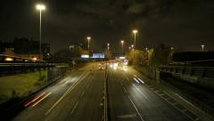 Mancunian Way 1, Manchester Stock Footage