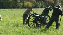 CW CANNON FIRING 3 - stock footage
