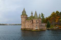 Powerhouse thousand islands is the name of an archipelago of islands that str Stock Photos