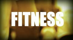 Fitness Stock Footage