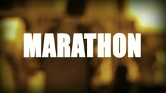 Marathon Stock Footage