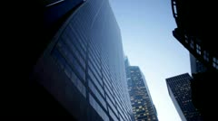 New York Skyscapers nyc.clip.10 Stock Footage
