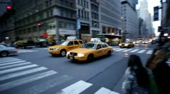 New York Taxi nyc.clip.09 - stock footage