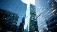 New York skyscrapers nyc.clip.12 Stock Footage