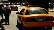 New York traffic taxi cab nyc.clip.39 Stock Footage