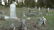 Stock Video Footage of OLD CEMETERY 12