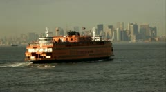 Staten Island Ferry nyc.clip.85 Stock Footage