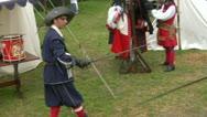 Sword fight 05 Stock Footage