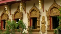Wat Mueang Chiang Mai - stock footage