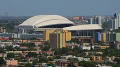 Miami Marlins Stadium Stock Footage
