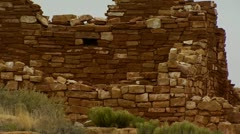 Native American Ruins Stock Footage
