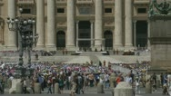 Pope's mass at St Peters, Rome (3) Stock Footage
