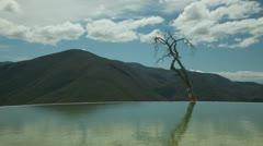 Hierve el agua oaxaca mexico 4k Stock Footage