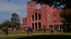 College/University Campus Stock Footage