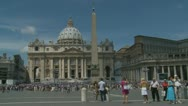 Pope's mass at St Peters, Rome (1) Stock Footage