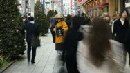 Stock Video Footage of Japan, Tokyo, city priest T/L