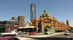 Melbourne City Stock Footage
