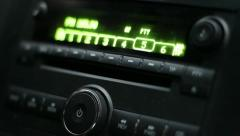 Car CD Player Stock Footage