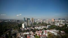 Mexico city skyline DF 4k Stock Footage