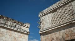 Mayan ruins uxmal mexico 4k Stock Footage