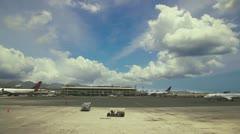 Honolulu Airport Stock Footage