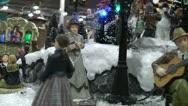 Christmas automatas scene Stock Footage