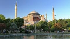 Hagia Sophia Stock Footage