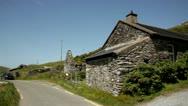 Ancient house Irish.Kerry.clip.31 Stock Footage