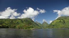 Tahiti Island - stock footage