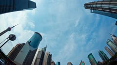 shanghai timelapse - stock footage