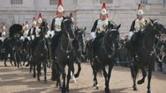 HorseGuards02 Stock Footage
