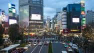Japan, Tokyo, city night T/L Stock Footage