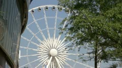 The echo ferris wheel of liverpool Stock Footage