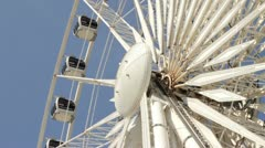 Ferris wheel, liverpool Stock Footage