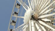 Ferris wheel, liverpool Stock Footage