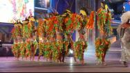 Stock Video Footage of Carnival time! Happy people dance with costumes all day and night