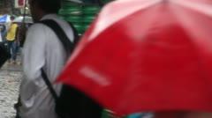 Mumbai Monsoon 2 - stock footage
