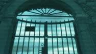 The door Stock Footage