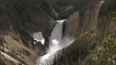 Yellowstone Lower Falls 7 by dwking Stock Footage
