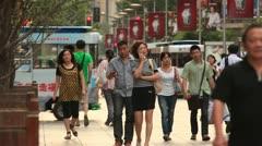 Shanghai Streets 2 - stock footage