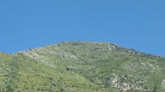 Karsty Mountain Stock Footage