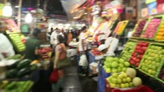 Stock Video Footage of Mumbai Market 4