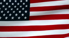 American Flag - looping Stock Footage